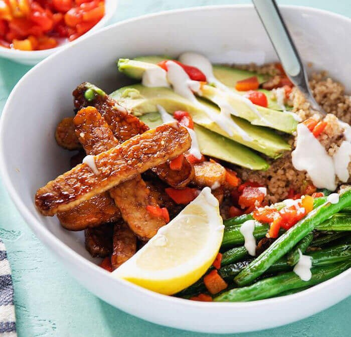 Smoky Tempeh Bowl