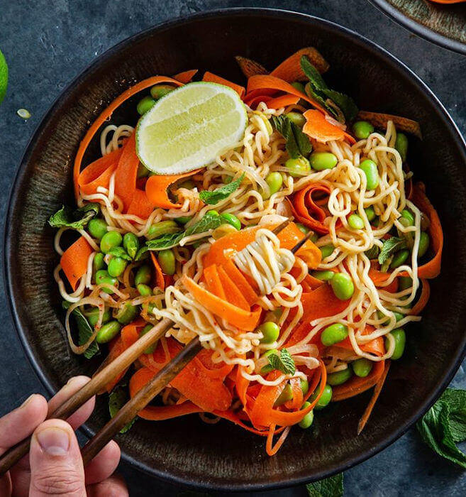 Spicy Red Curry Noodles
