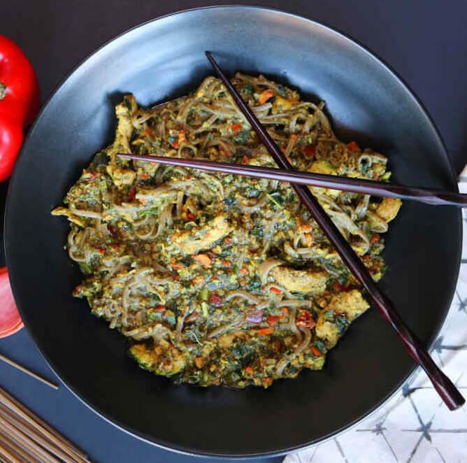Thai Veggie Noodle Savory-Bowl