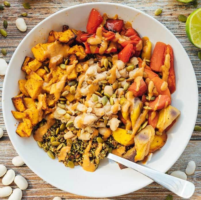 Baja Quinoa Bowl
