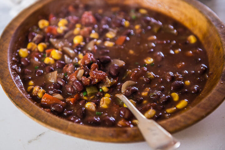 Black Bean Smoky Chili