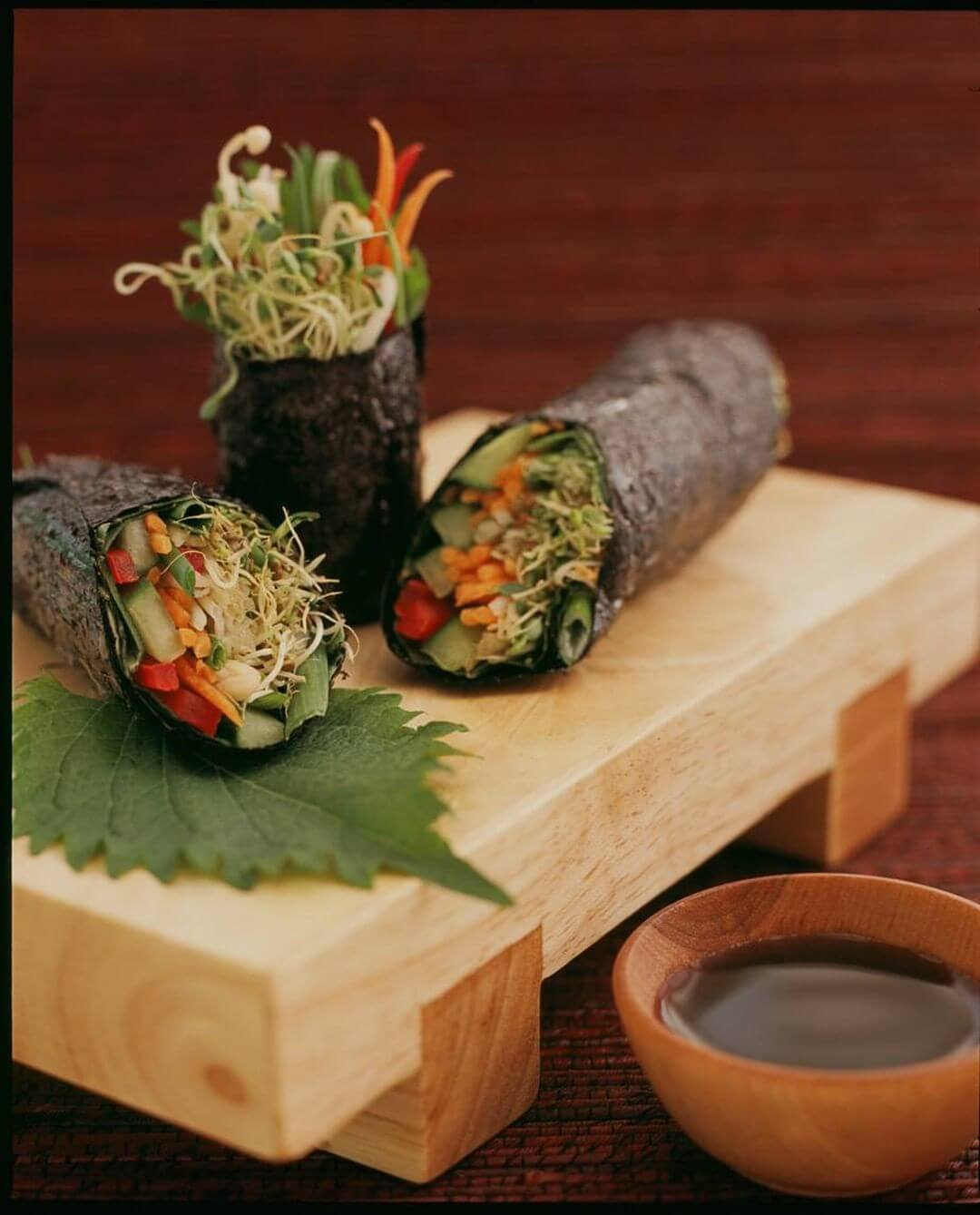 Asian Veggie Nori Roll