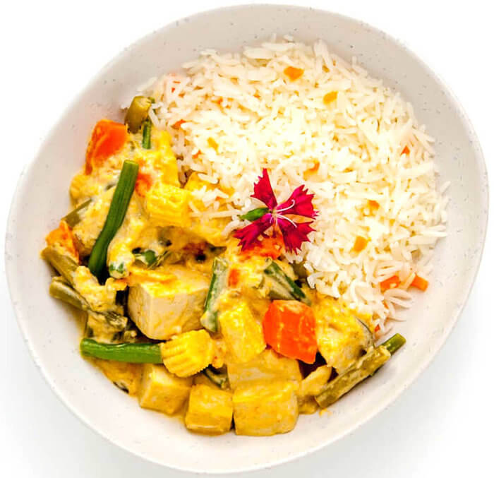 Jungle Curry with Fragrant Jasmine Rice