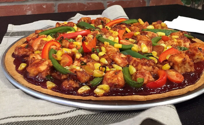 Sweet BBQ Pizza