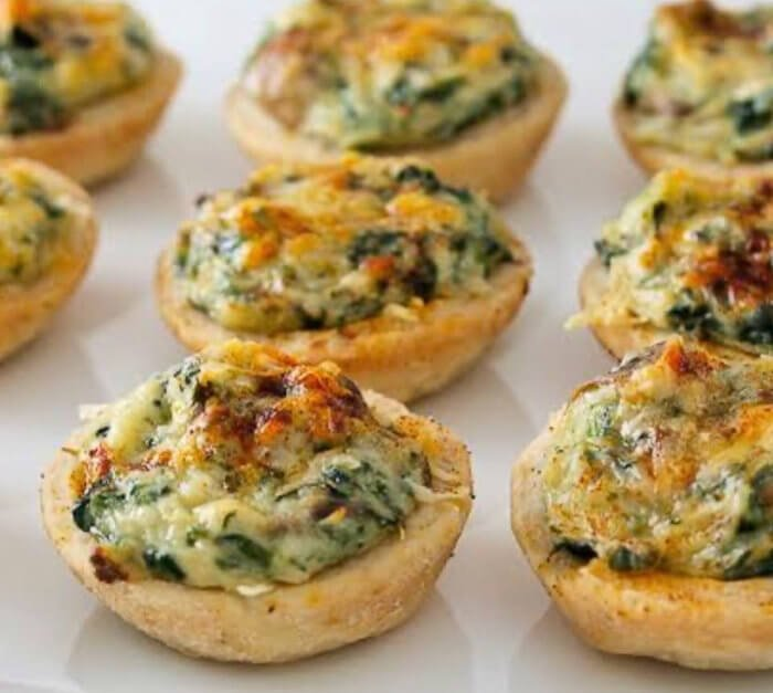 Vegetable tarts