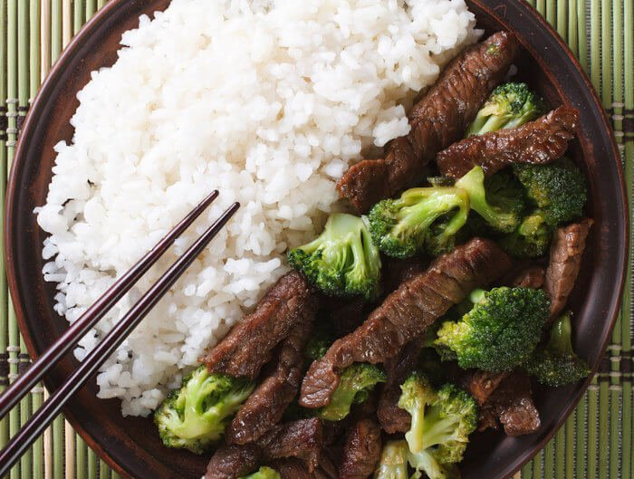 """Beef"" with Broccoli"