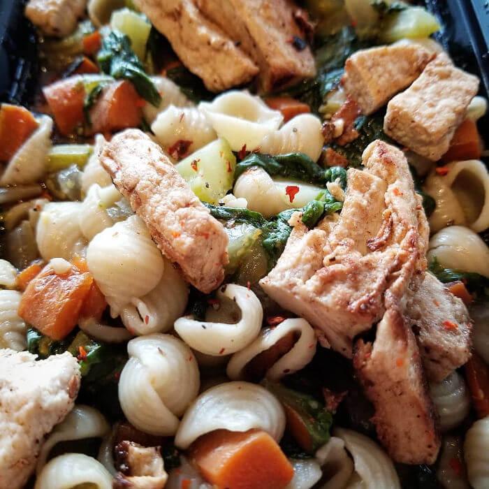 Unchicken Noodle Soup