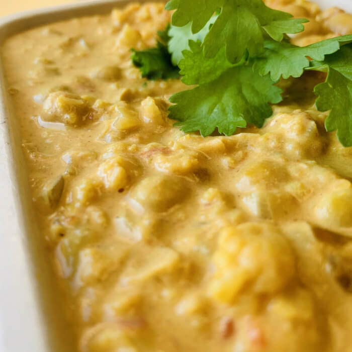 Butter Chickpea & Cauli Masala