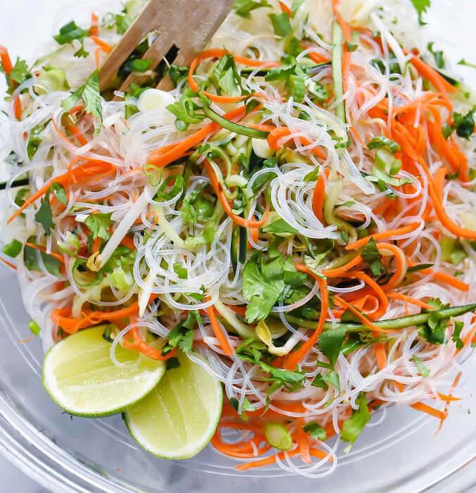 Rice Vermicelli Salad