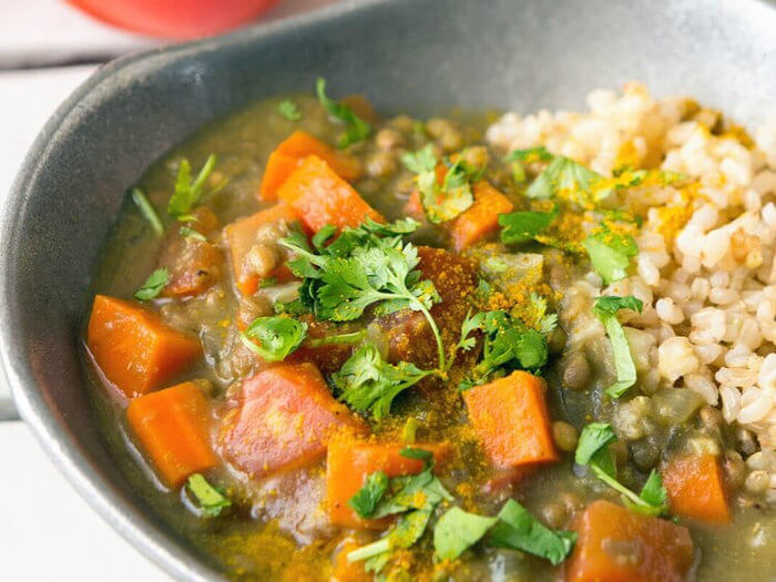 Savory Tomato-Lentil Stew