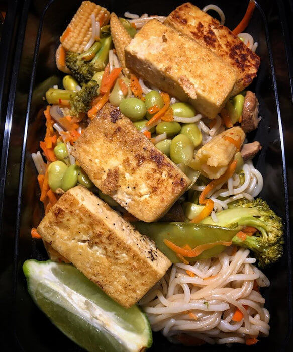 Thai Noodles with Tofu