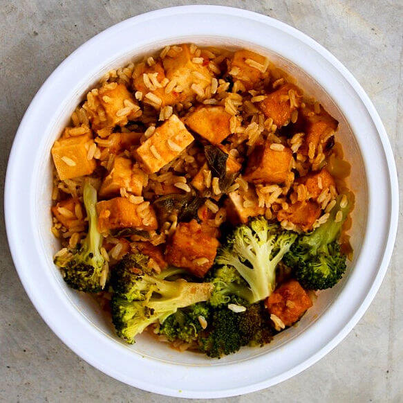 "General Tso's ""Chicken"" & Broccoli"